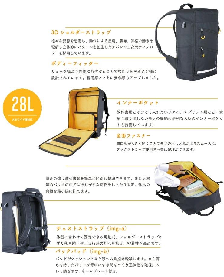 3Dショルダーストラップ・ポケット